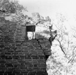 Wasserburg Stuer, Problemstelle 1994, Foto: Doese