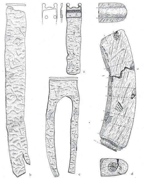 Burg Stuer,1980er,Archäolog.Grabung,Weckwerth/Schocknecht, Arch.Berichte M-V.1999,Beiheft 3