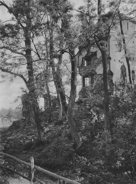 Stuer, Wasserburg, Zustand 1.Viertel 20.Jh., Postkarte