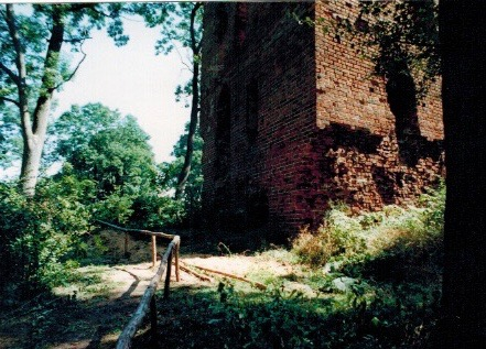 Stuer, Wasserburg, Sicherungszustand 1980er/1990er Jahre