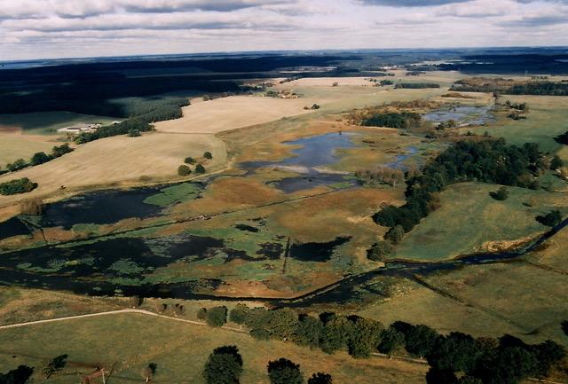 See vor Vernässung Stuer,1990er Jahre