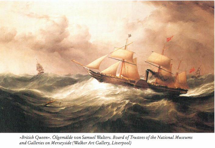"""""""British Queen"""",Ölgemälde von Samuel Walters,National Museums ans Galleries an Merseyside, Liverpool"""
