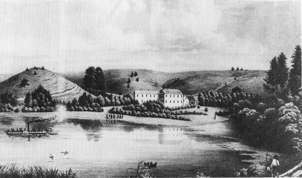 Bad Stuer nach 1845; Stich