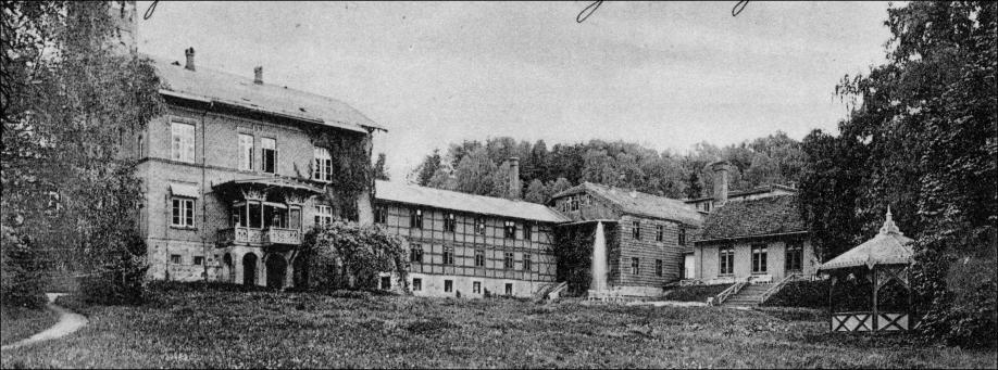 Bad-Stuer,Kurhaus um 1900