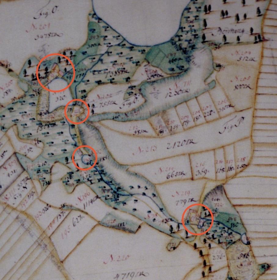 ) Direktorialkarte 1756, Detail