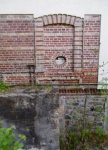Reste der in 1970eer Jahren abgetragene Stuersche Hintermühle(Kornmühle)Foto 2020