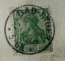 Poststempel BAD STUER, 1905