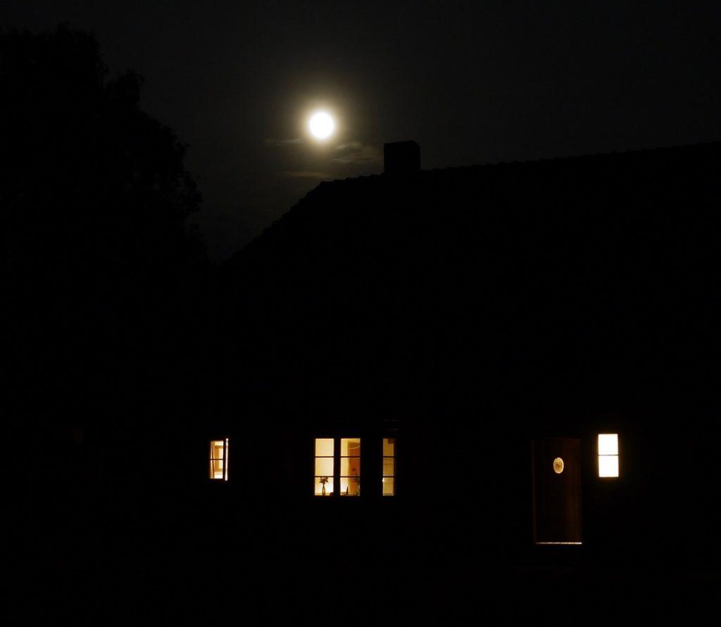 Mondnacht, Stuer, Mecklenburg, 2018