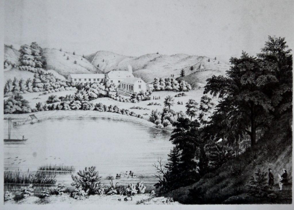 Bad Stuer nach 1850, Stich