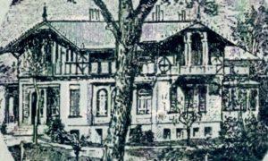 Villa Sührsen, Postkarte, 1890er Jahre