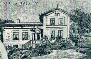 Bad-Stuer, Villa Bardey vor 1890,Postkarte,Ausschnitt