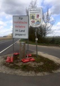 Landwehr zwischen Brandenburg und Meckenburg, 2020