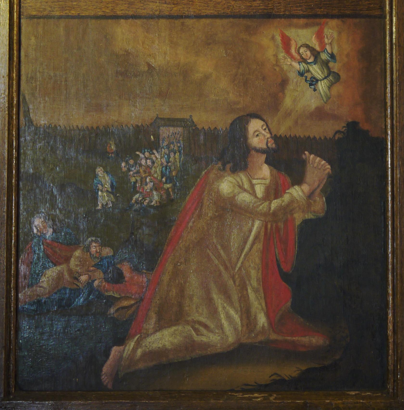 Flügelretabel,Stuer,barockes Flügelbild, Gethsemane