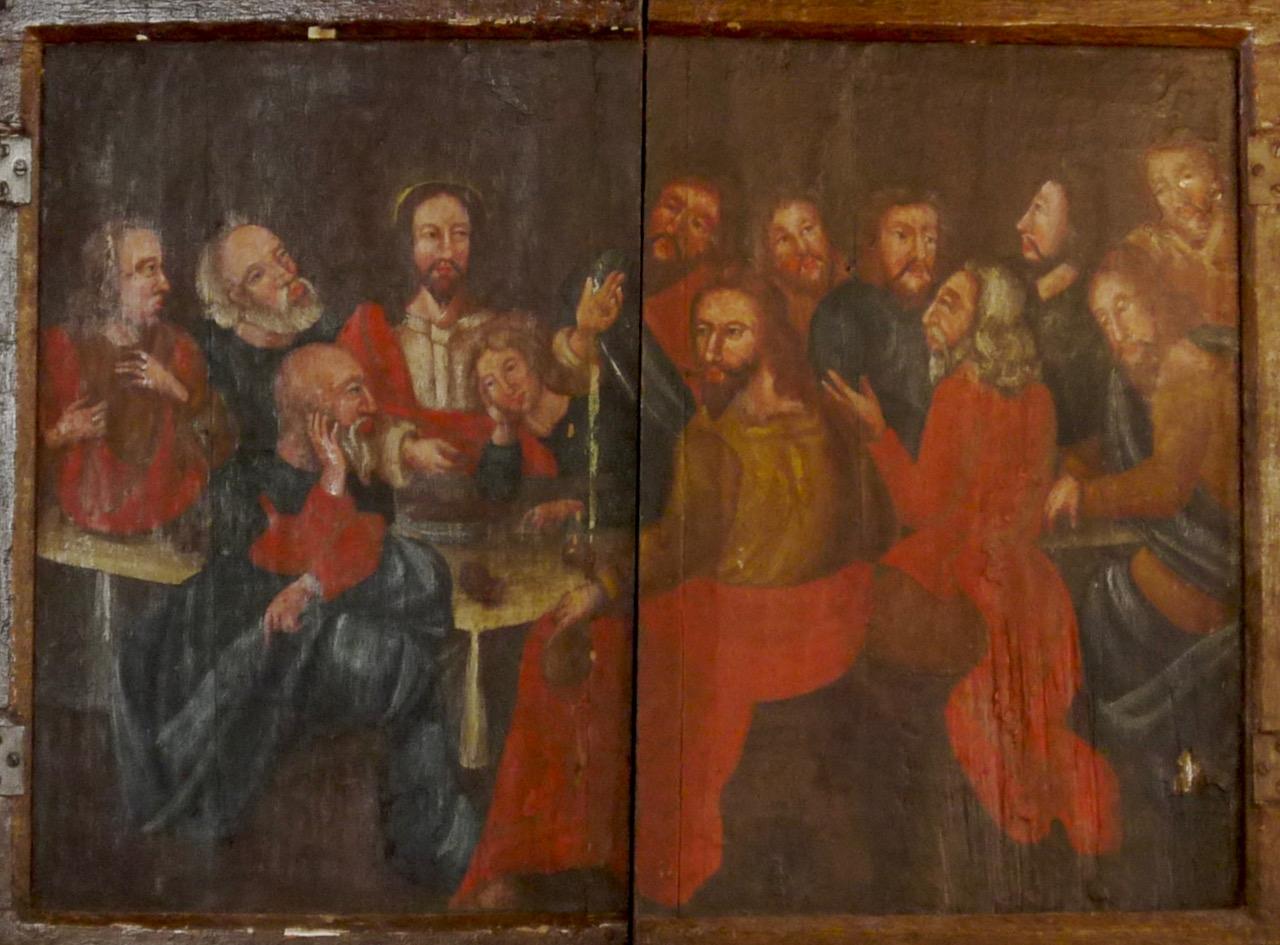 Altartafel Stuer,Predella,1688,Abendmal