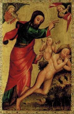 Die Erschaffung Evas, 1388, Kunsthalle Hamburg