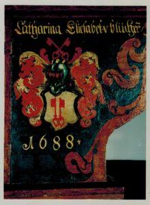 Stuer, Flügelretabel,Predella, Barocke Überarbeitung, Stiftung