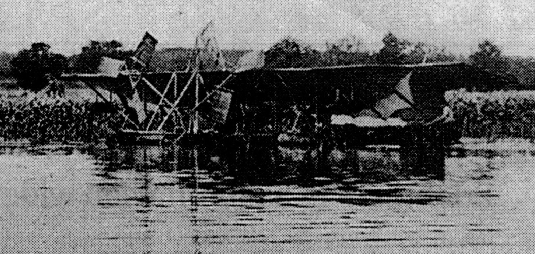 Parseval-Flugboot am Plauer See,1910, Mecklenburg Magazin 2/1998, S.11