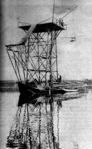 """""""Gleiflugstation Plauer See"""",1910 Mecklenburg Magazin 1/1998, S.11"""