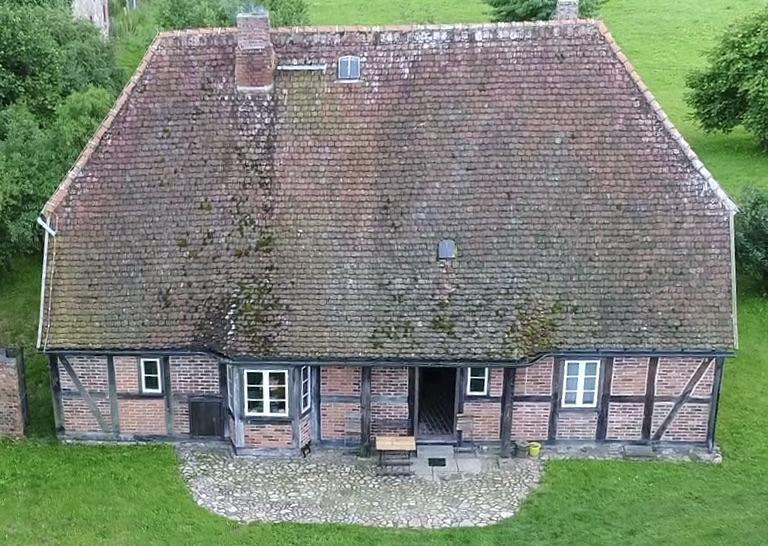 Wohn-Stall-Haus eines Erbpachtbauern von 1832 in Stuer/ Mecklenburg